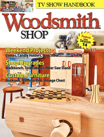 Woodsmith Shop TV Show Handbook Season 14