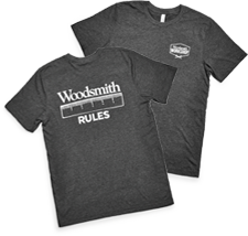 Woodsmith Rules T-Shirt