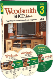 Woodsmith Shop Season 3 DVD