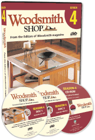 Woodsmith Shop Season 4 DVD