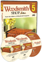 Woodsmith Shop Season 5 DVD
