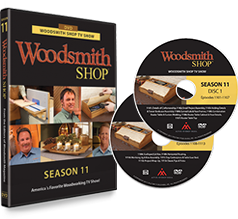 Woodsmith Shop Season 11 DVD