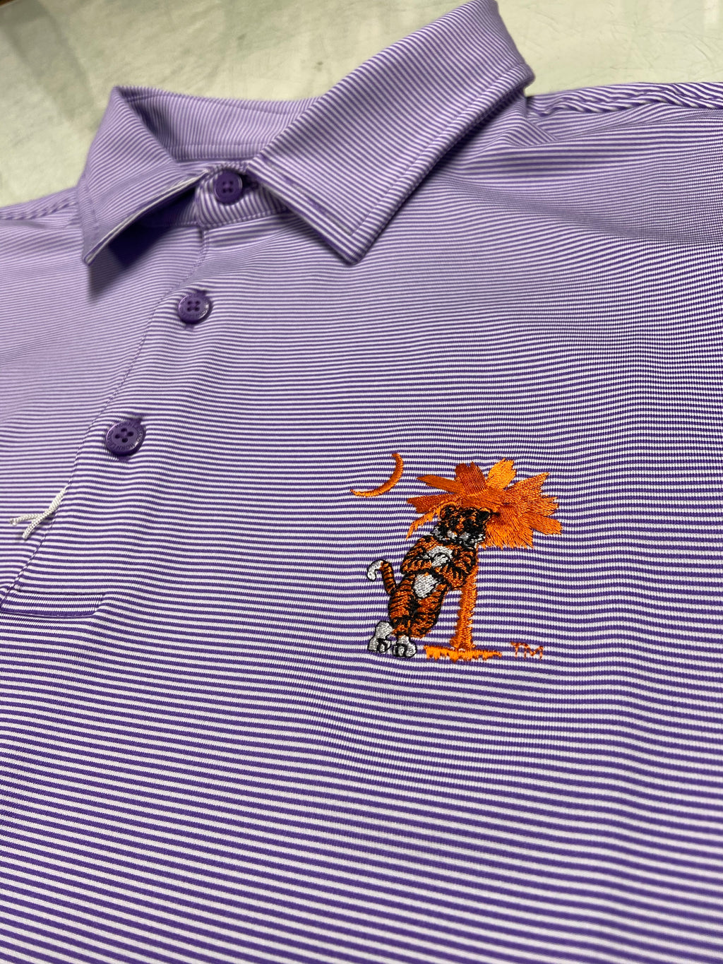 Tiger Leaning on The Tree Polo