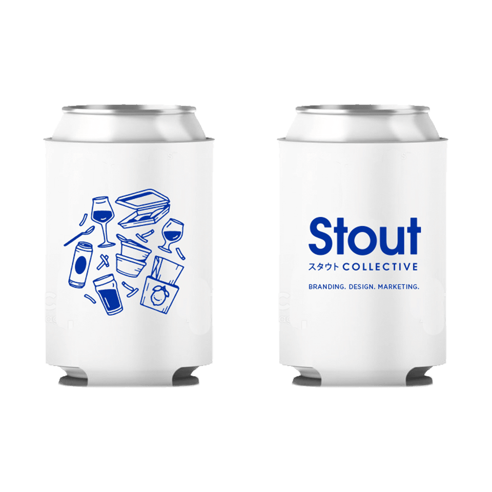 Chicago Beer Koozie by Stout Collective