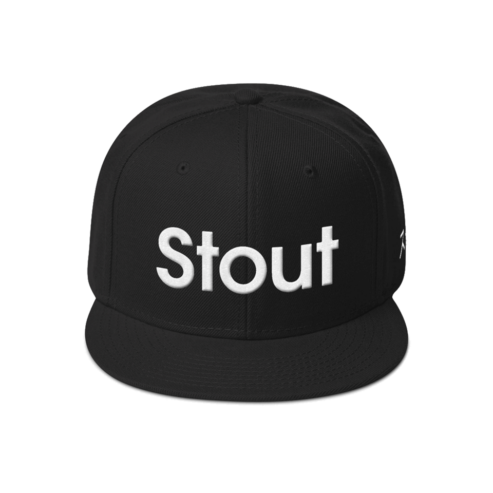 The Original Stout Collective Snapback Hat