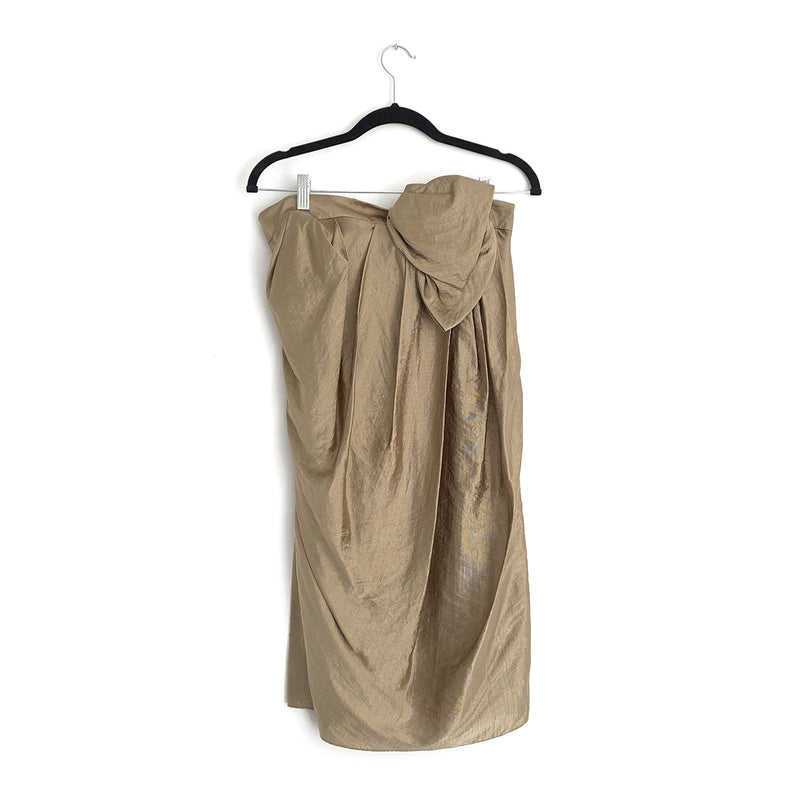 3.1 PHILIP LIM gold dress