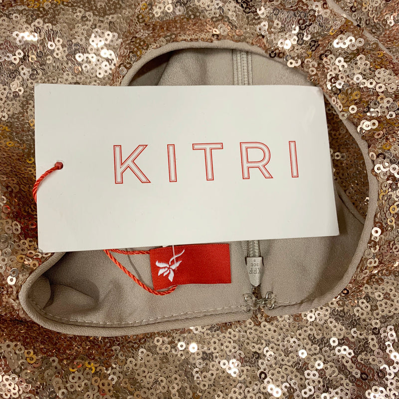 Kitri assymetrical sequin dress