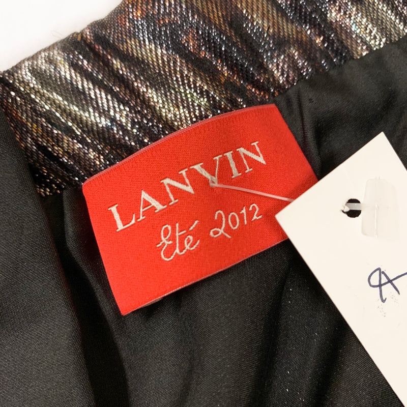 Lanvin strapless mini dress