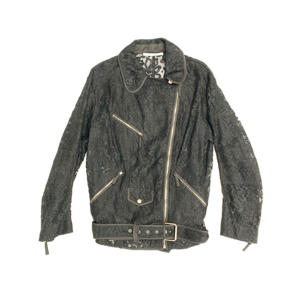 second hand pre owned ALESSANDRA RICH biker jacket