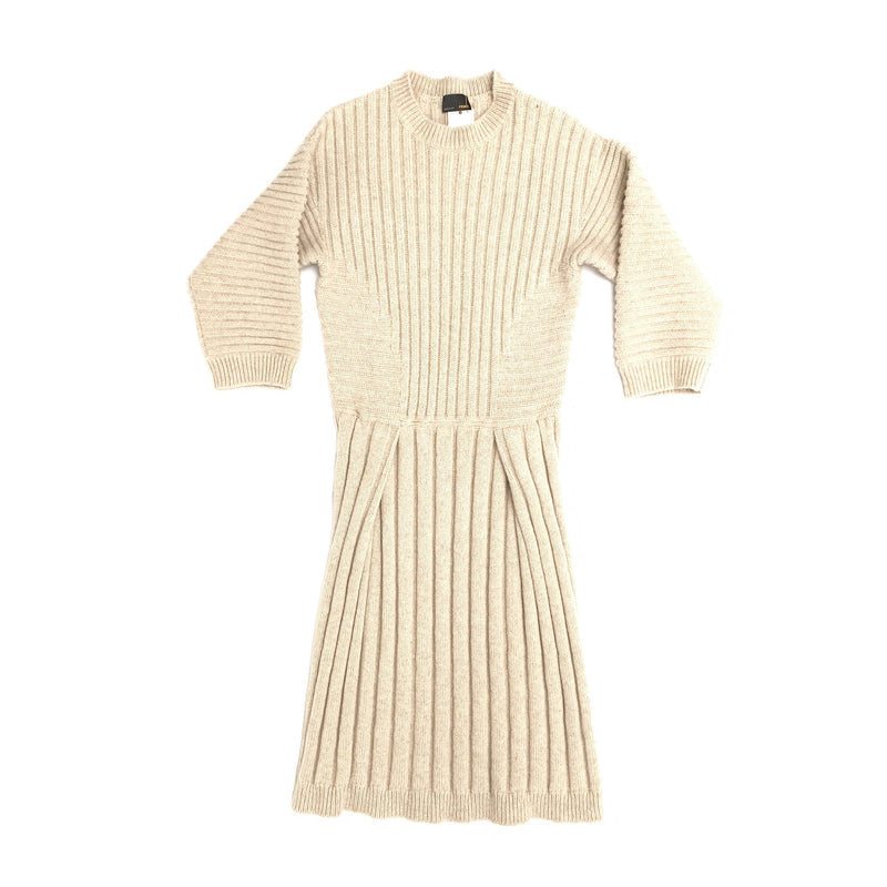 second hand pre owned FENDI knitted dress