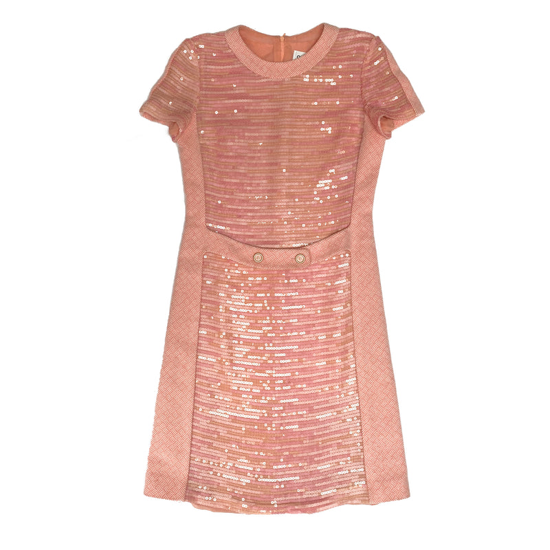 Chanel Sequin Knitted Dress