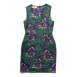 Marni Floral Embossed Dress