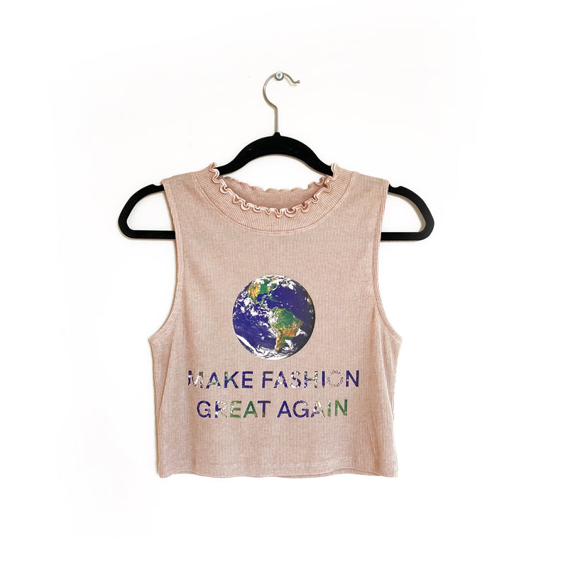 Make Fashion Great Again cropped top