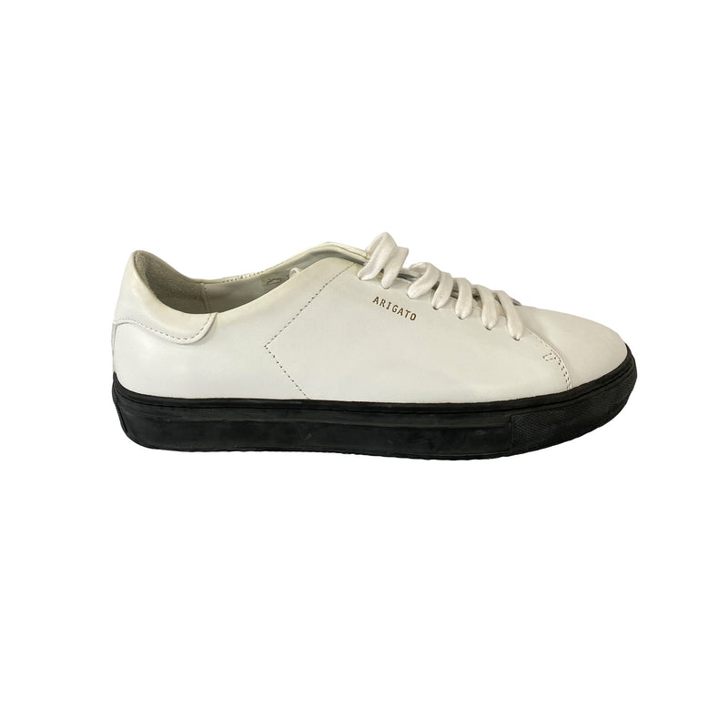 second hand Axel Arigato white leather sneakers| Size 40