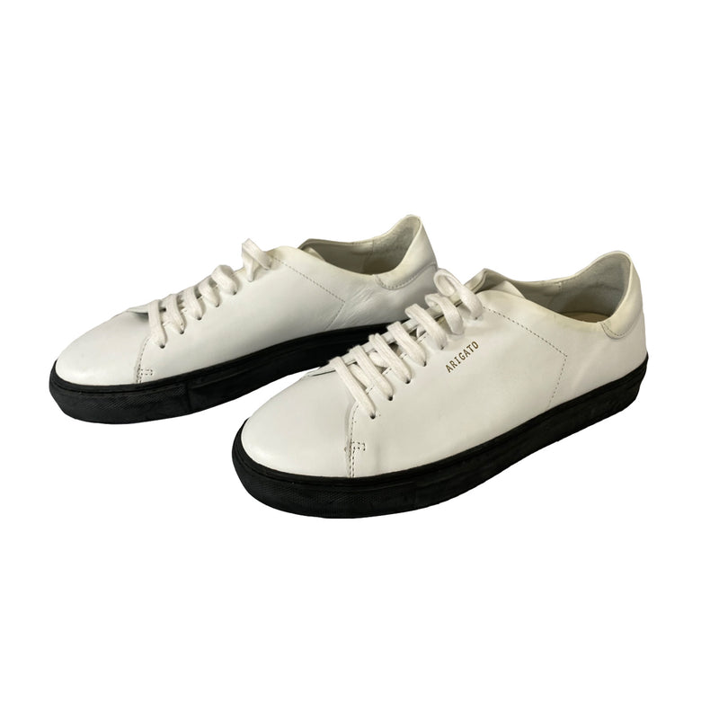 pre-loved Axel Arigato white leather sneakers| Size 40