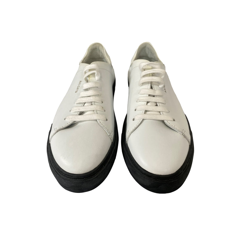 pre-owned Axel Arigato white leather sneakers| Size 40