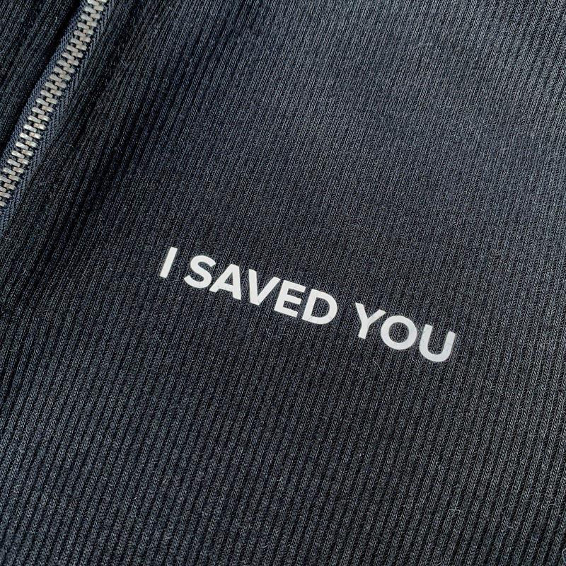I SAVED YOU top | size S