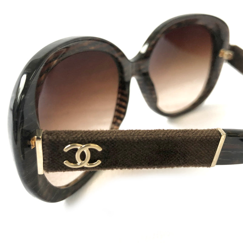 Chanel brown sunglasses