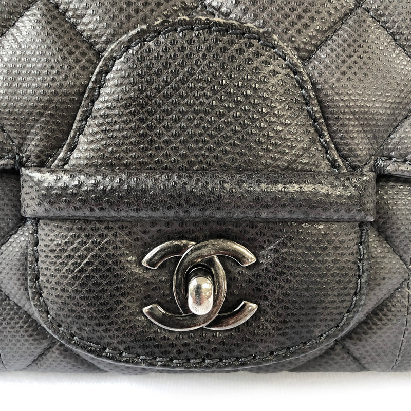 2nd hand chanel bag black