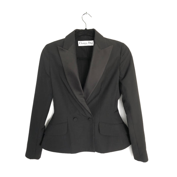 second hand black CHRISTIAN DIOR jacket