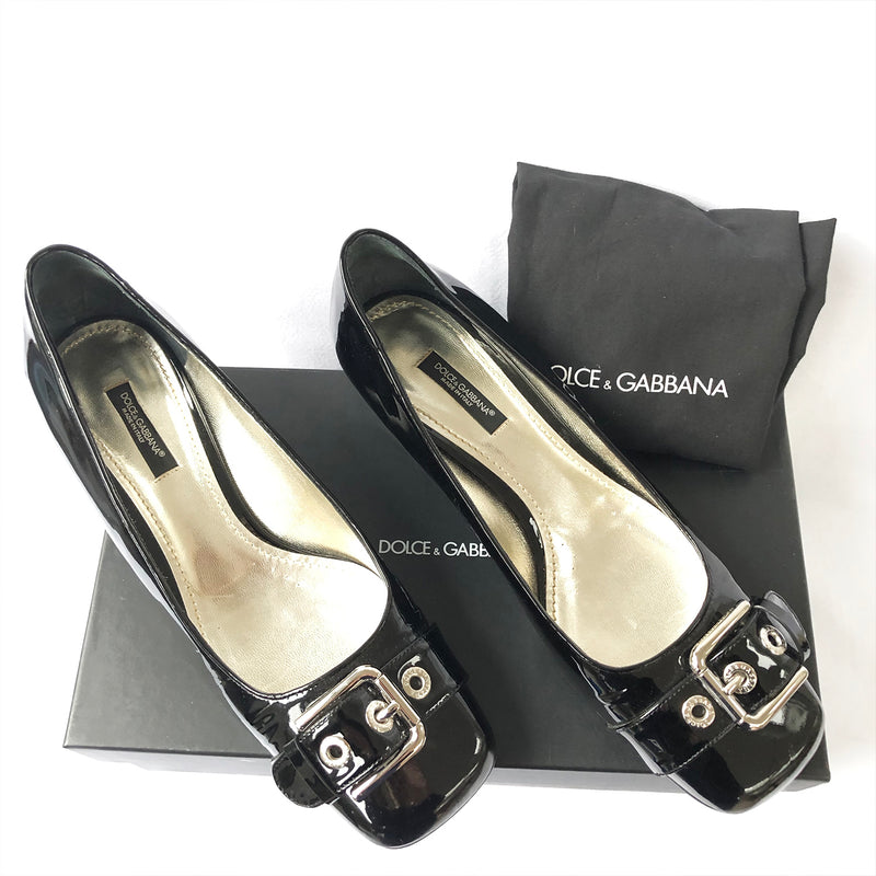 DOLCE&GABBANA patent leather pumps | size 39