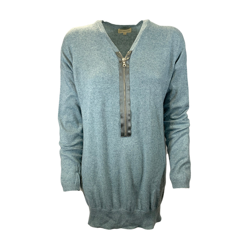 Eric Bompard blue cashmere jumper