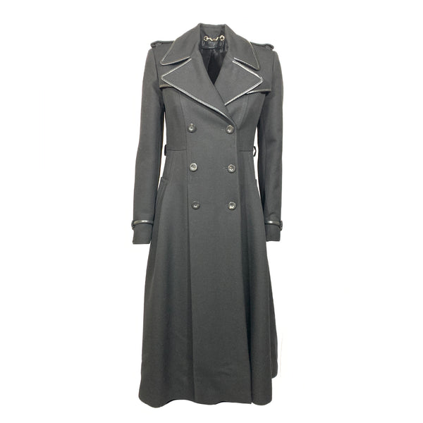 Gucci black fitted coat