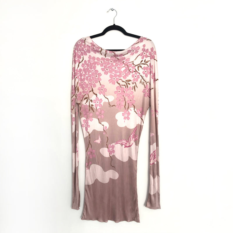 GUCCI pink flower dress