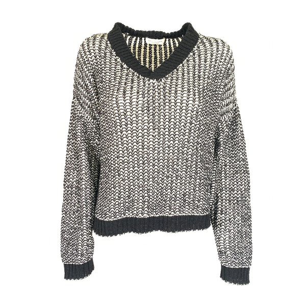 Hofmann black and white jumper | size M/L