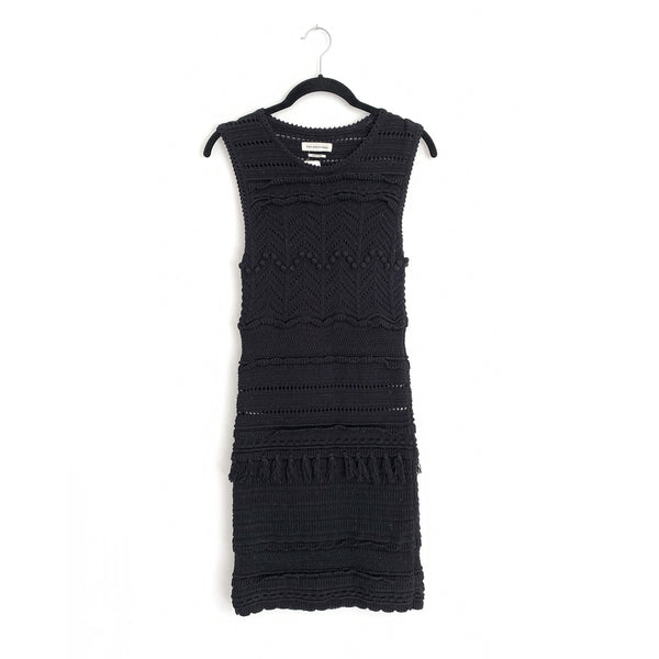 ISABEL MARANT ÉTOILE black knitted dress