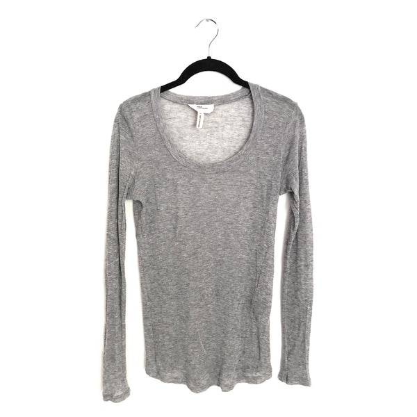 ISABEL MARANT ÉTOILE grey long-sleeve top