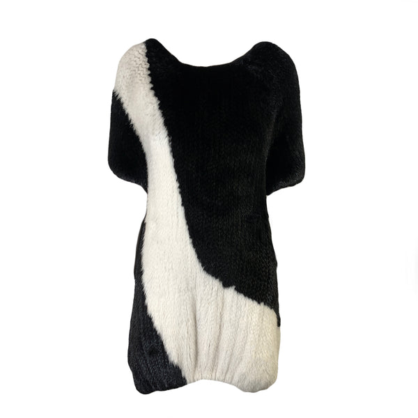 J.MENDEL mink fur dress
