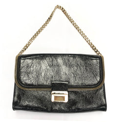 MMY CHOO patent leather handbag