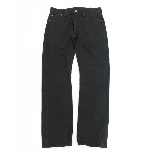 loop generation Levi's black wide leg jeans