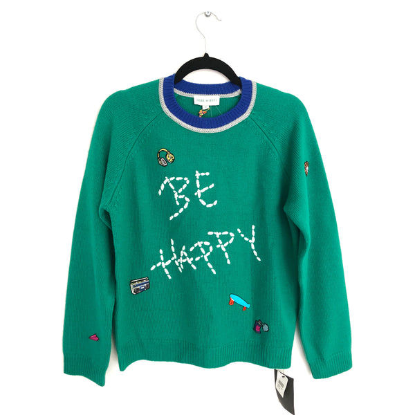 MIRR MIKATI green Be Happy  jumper