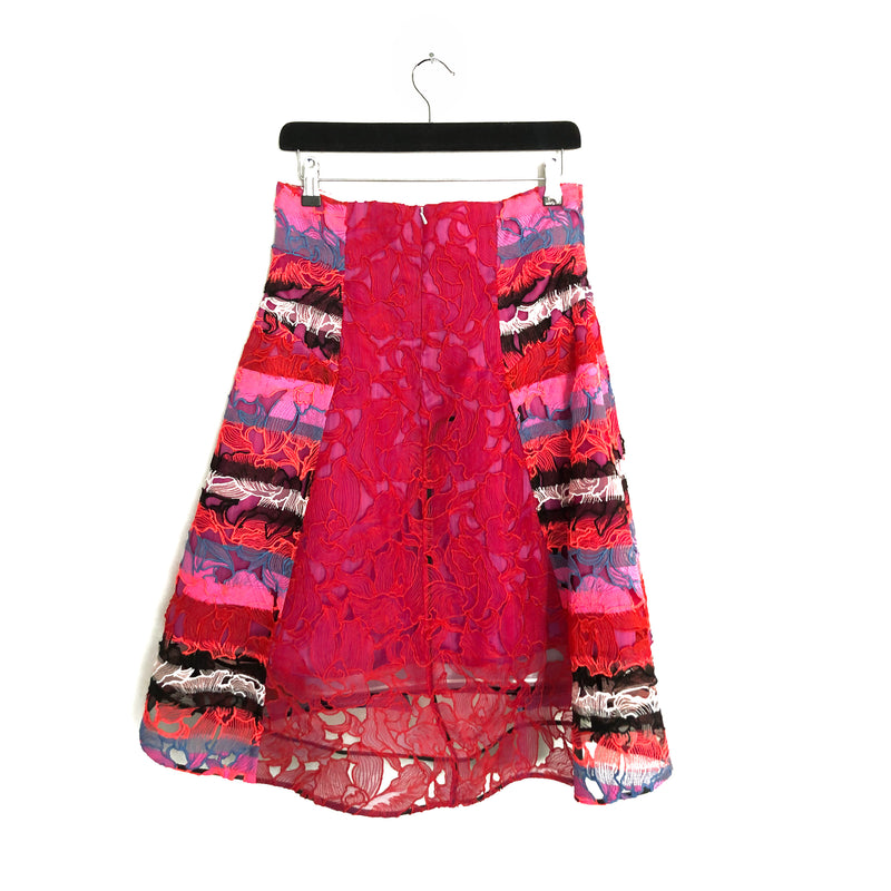 PETER PILOTTO lace skirt