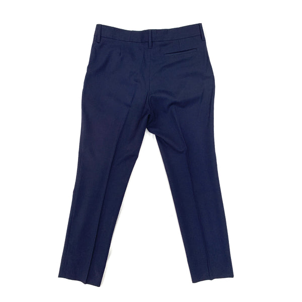 second hand navy trousers