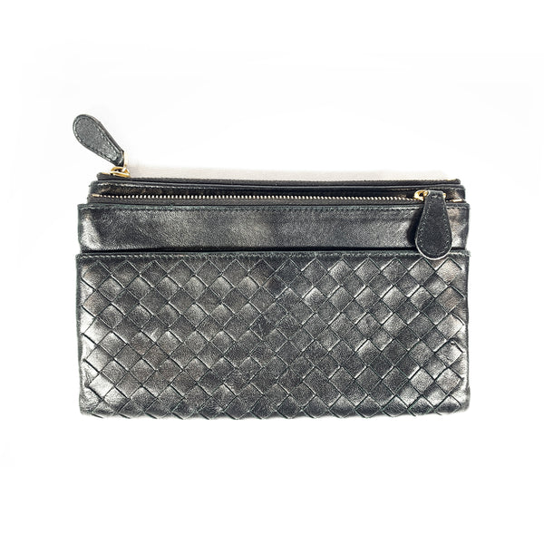 Bottega Veneta Black Leather wallet