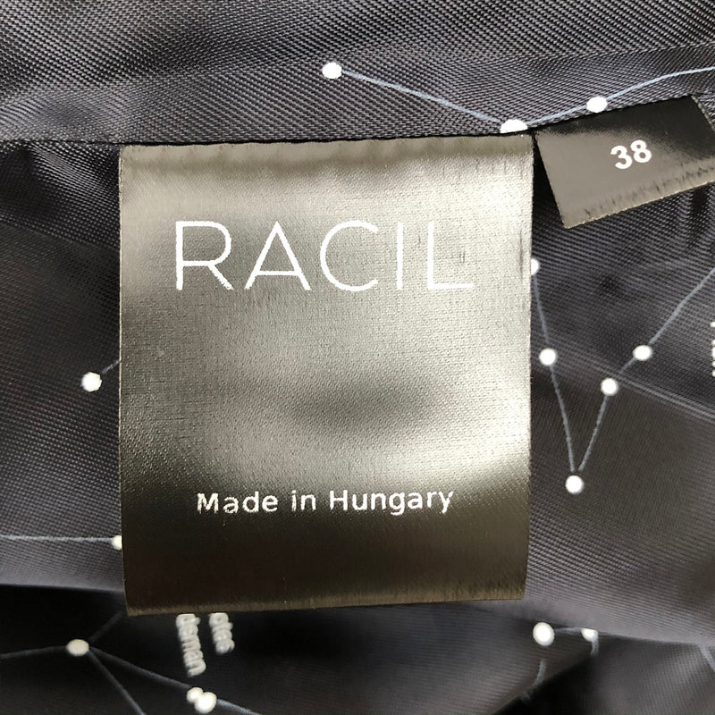 Racil black wool evening jacket | size FR38
