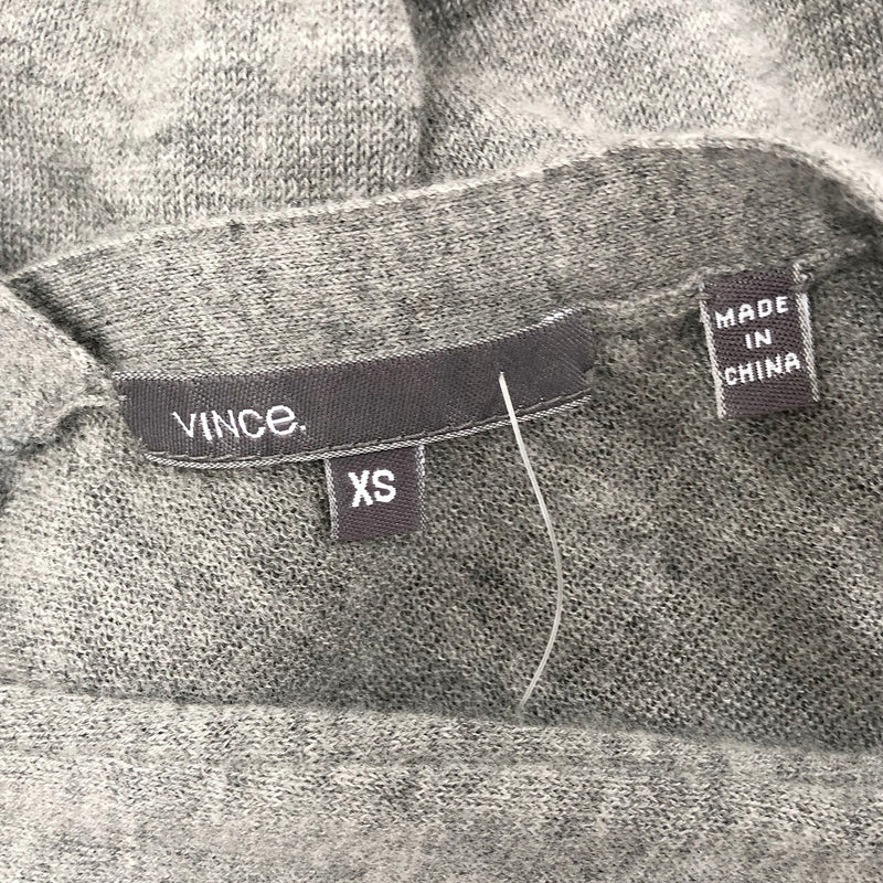 Vince grey cashmere cardigan | size XS