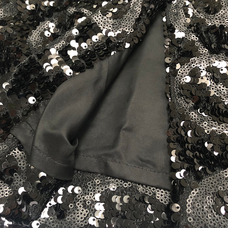 DENI CLER sequin skirt | size UK8
