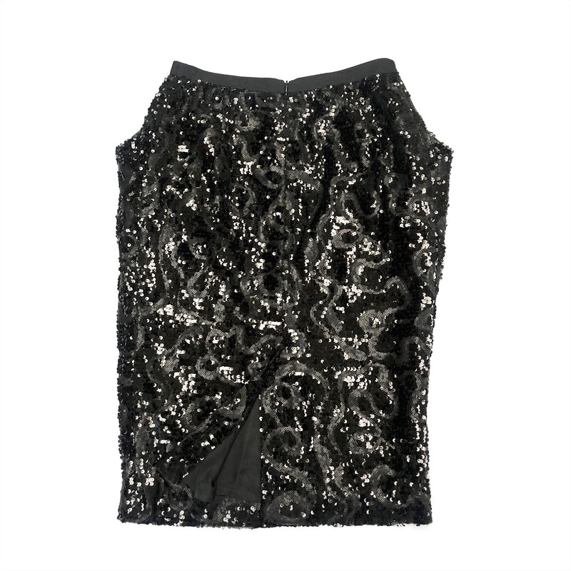 DENI CLER sequin skirt