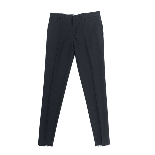 Saint Laurent black slim-leg pants | size FR36