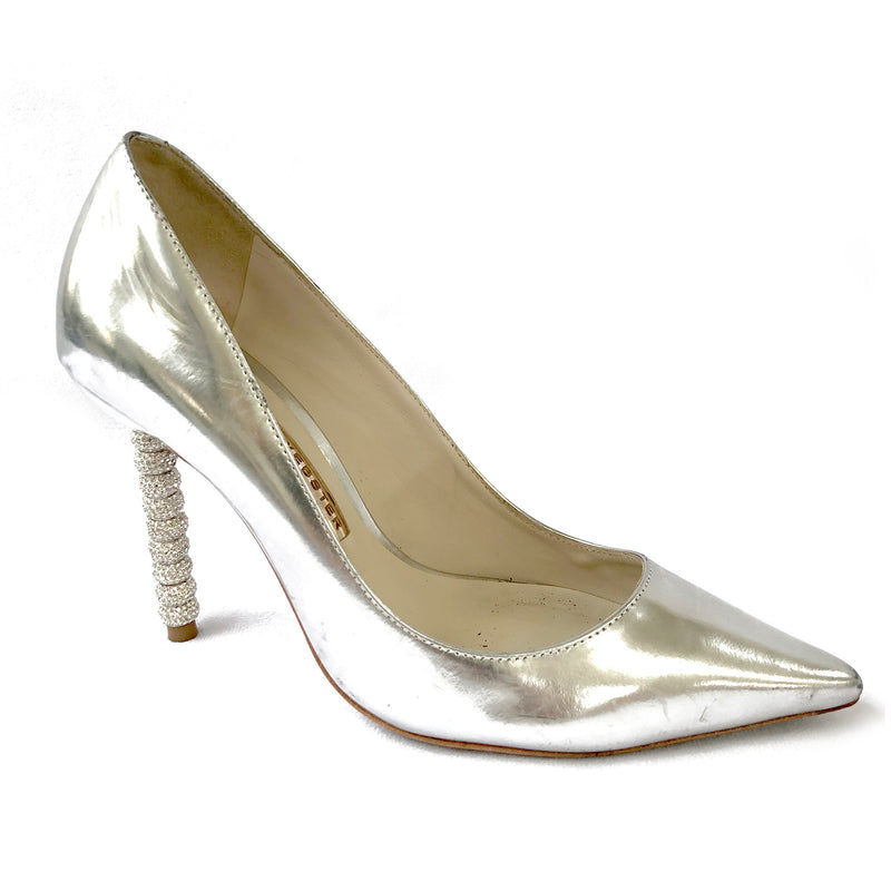 Sophia Webster silver heels