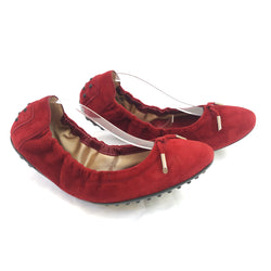 TOD'S red ballerinas
