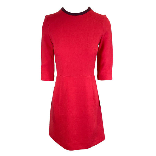 second hand Victoria by Victoria Beckham red dress