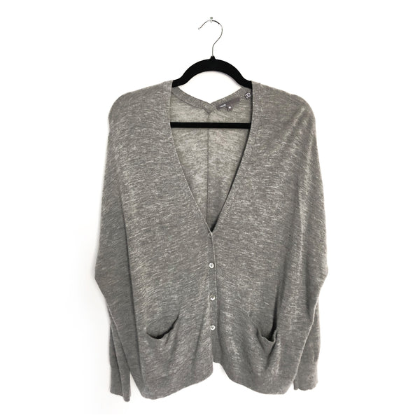 second hand cashmere VINCE cardigan