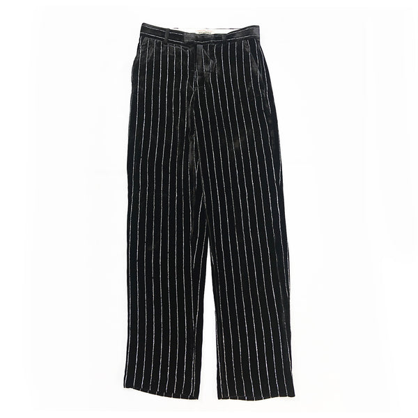 ZADIG&VOLTAIRE sequin stripes trousers