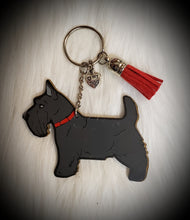 Load image into Gallery viewer, Scottish Terrier Acrylic/Vinyl  Keychain