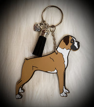 Load image into Gallery viewer, Boxer Acrylic/Vinyl  Keychain